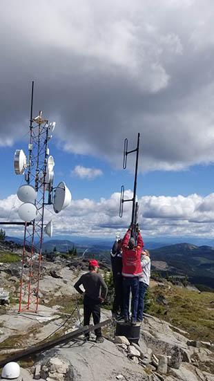 VE7RDB Alternate Antenna